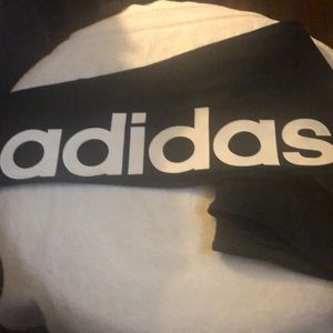 NWT Adidas 3/4 workout tights